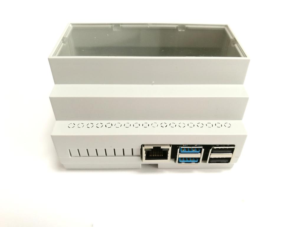Hutschienengehäuse Set für Raspberry Pi 4B
