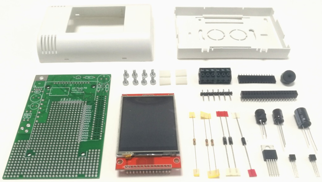 AZ-Touch Pi0 diy kit