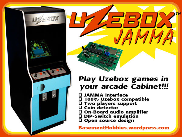 Uzebox Jamma Flyer