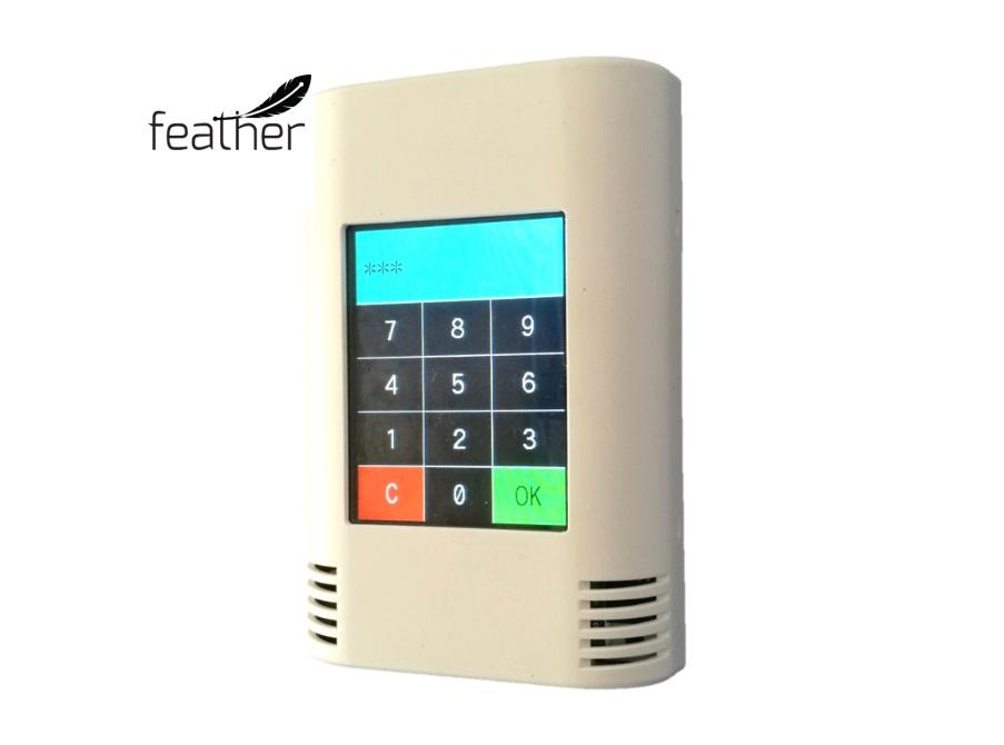 AZ-Touch Feather mit Beispielsoftware Codeschloss