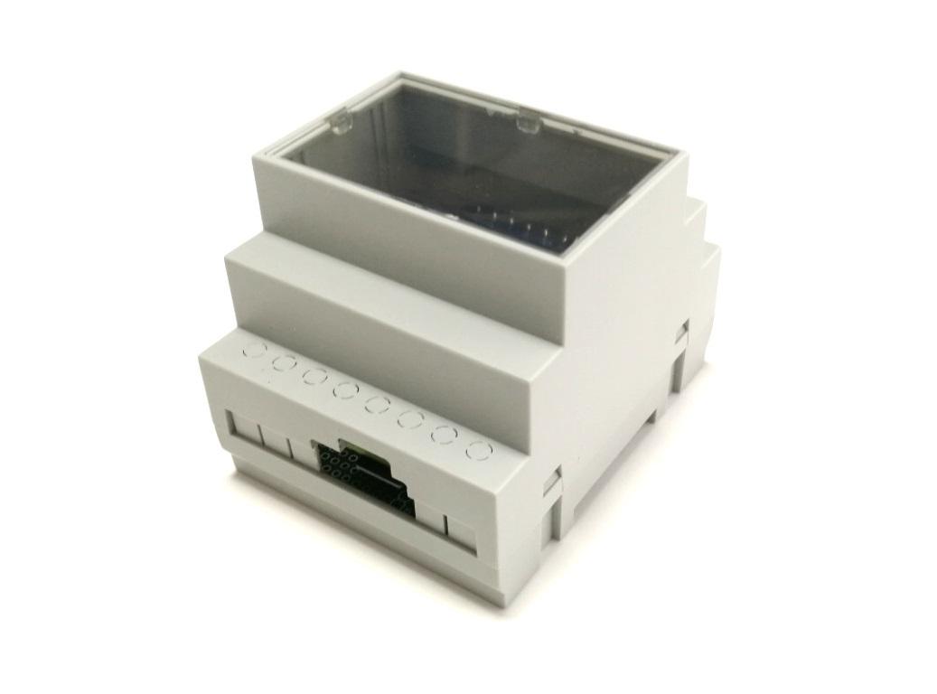 RasPiBox Zero Gehäuseoberseite mit Öffnung für SD-Karte