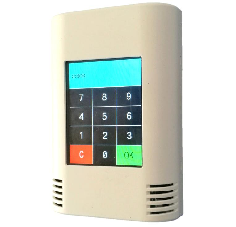 AZ-Touch Pi0 mit Software Kodeschloss in C
