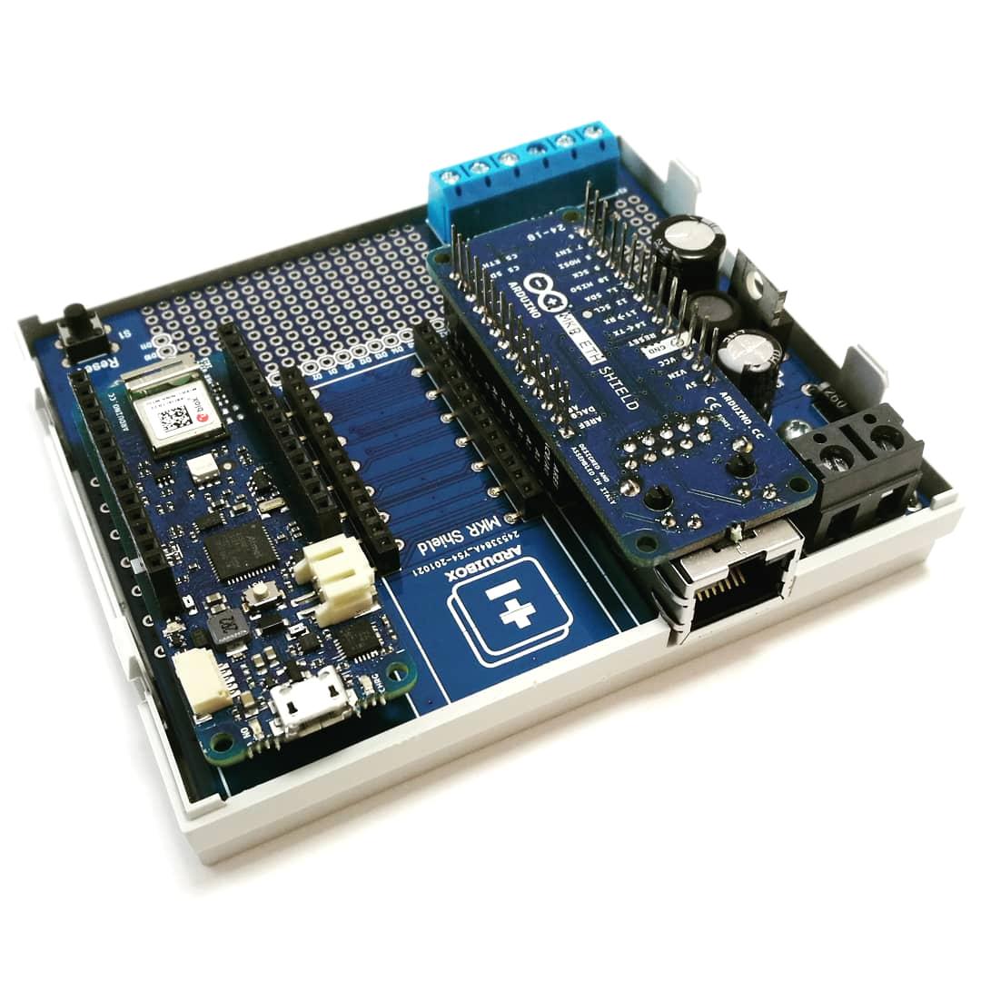 ArduiBox MKR Gehäuse Kit mit MKR 1010 + Shields