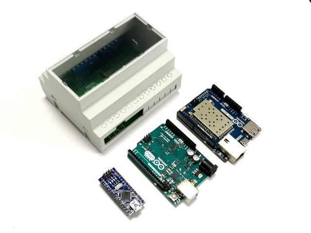 ArduiBox Hutschienengehäuse für Arduino Uno, Nano, Yun