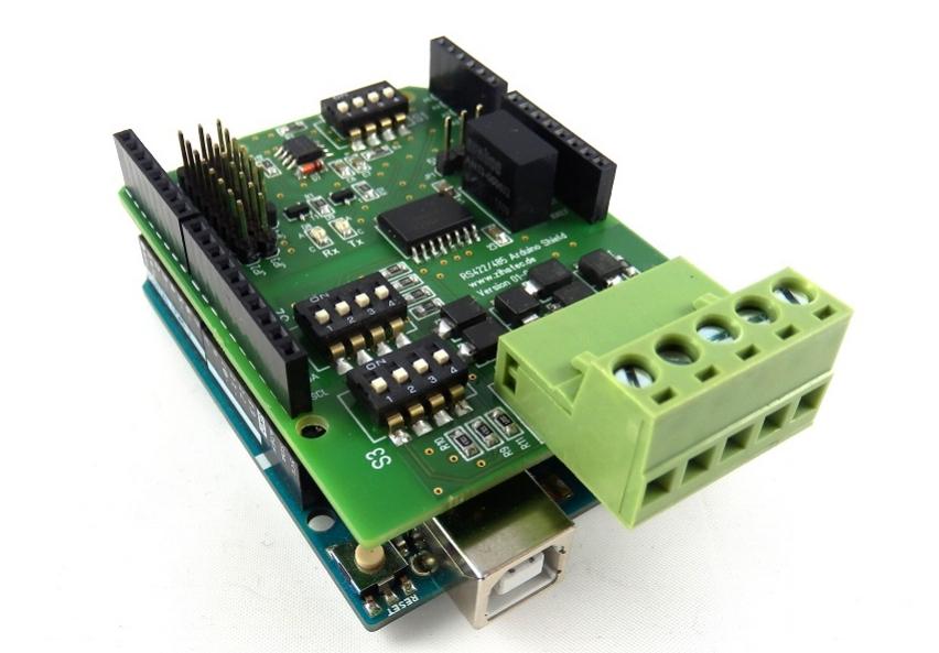NEU: RS485 Shield für Arduino