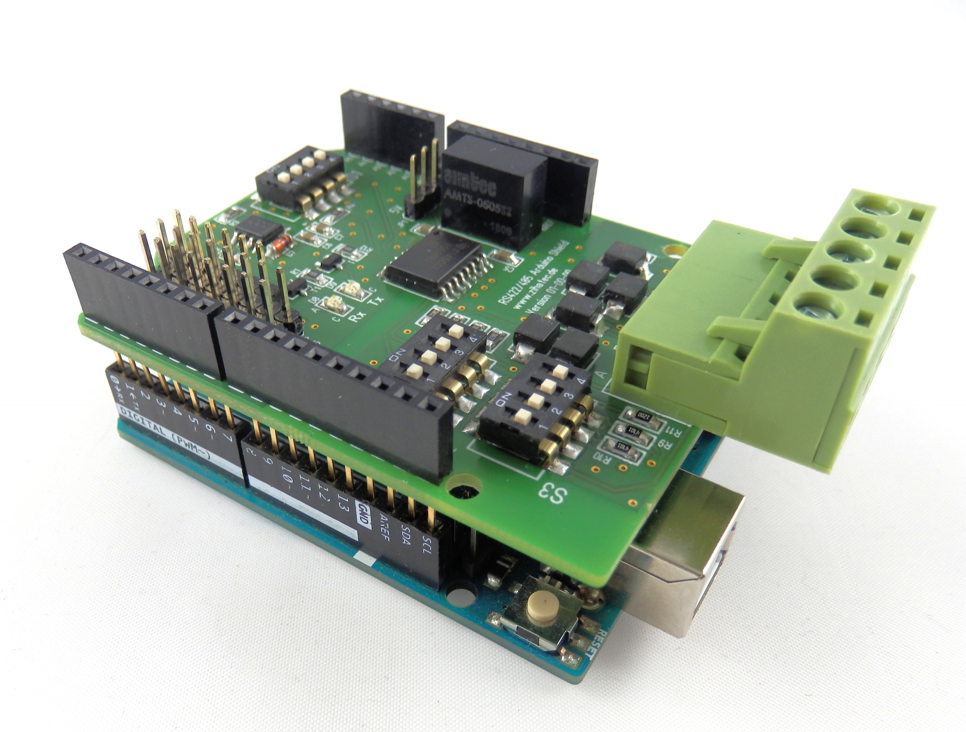 RS422 / RS485 Shield & Arduino UNO