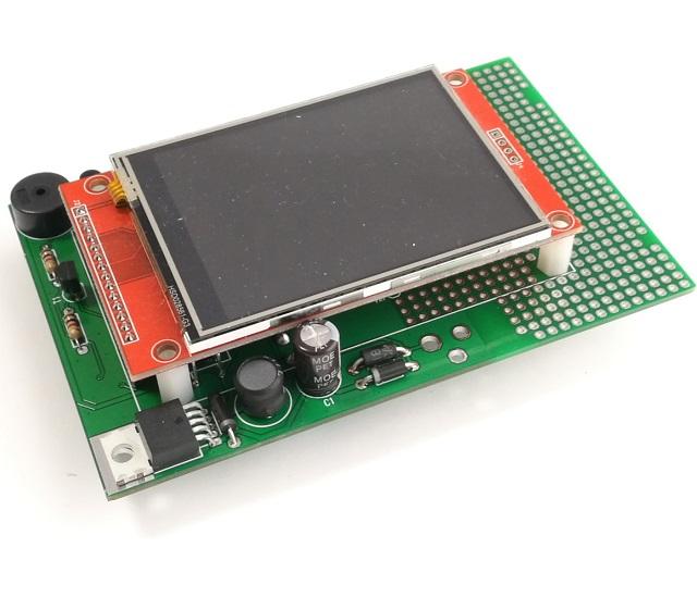 AZ-Touch Feather Leiterplatte mit Touchscreen