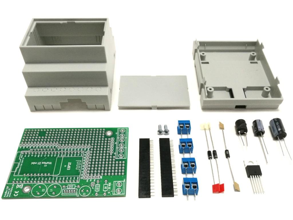 ArduiBox ESP Bausatz Basic (mit Spannungsregler)