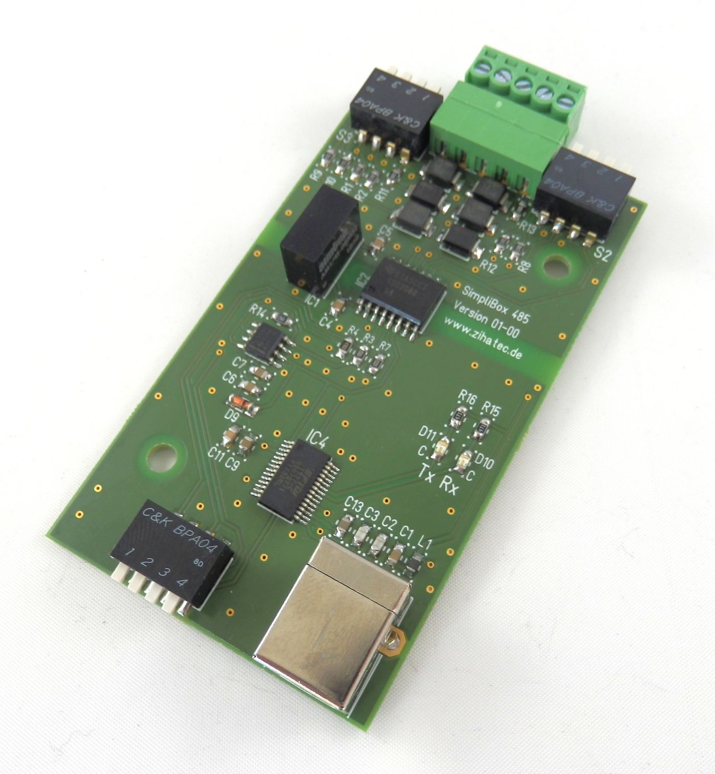 SimpliBox 485 Platine