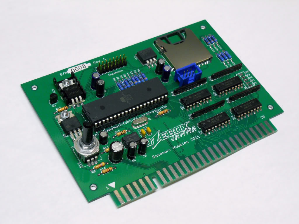 Uzebox Jamma Board