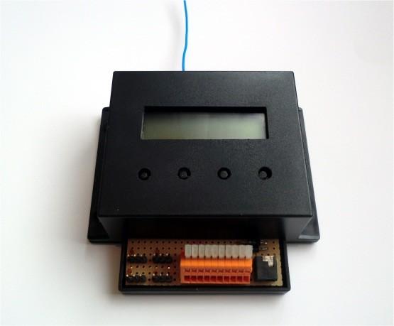 EnOcean UniModul Prototyp mit Gehäuse