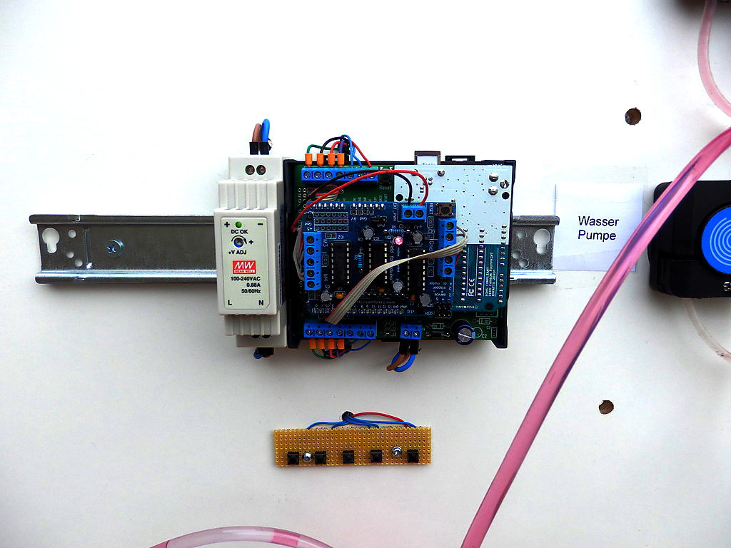 Arduino mit Motorshield und Arduibox