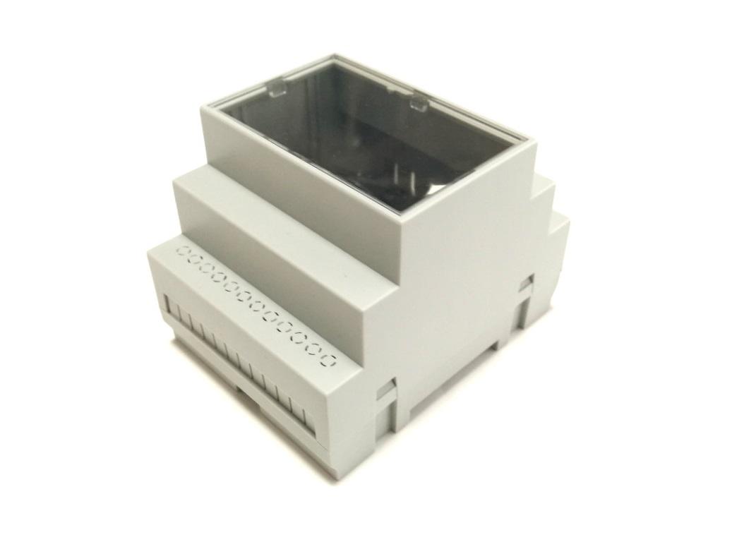 RasPiBox Pico mit Gehäuse transparenter Frontplatte
