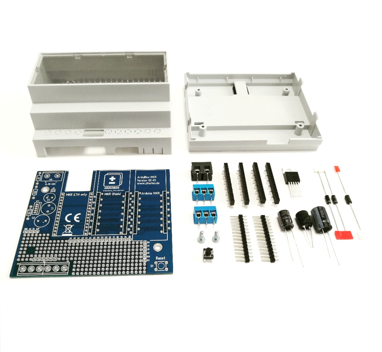 Arduibox MKR standard kit with additional parts