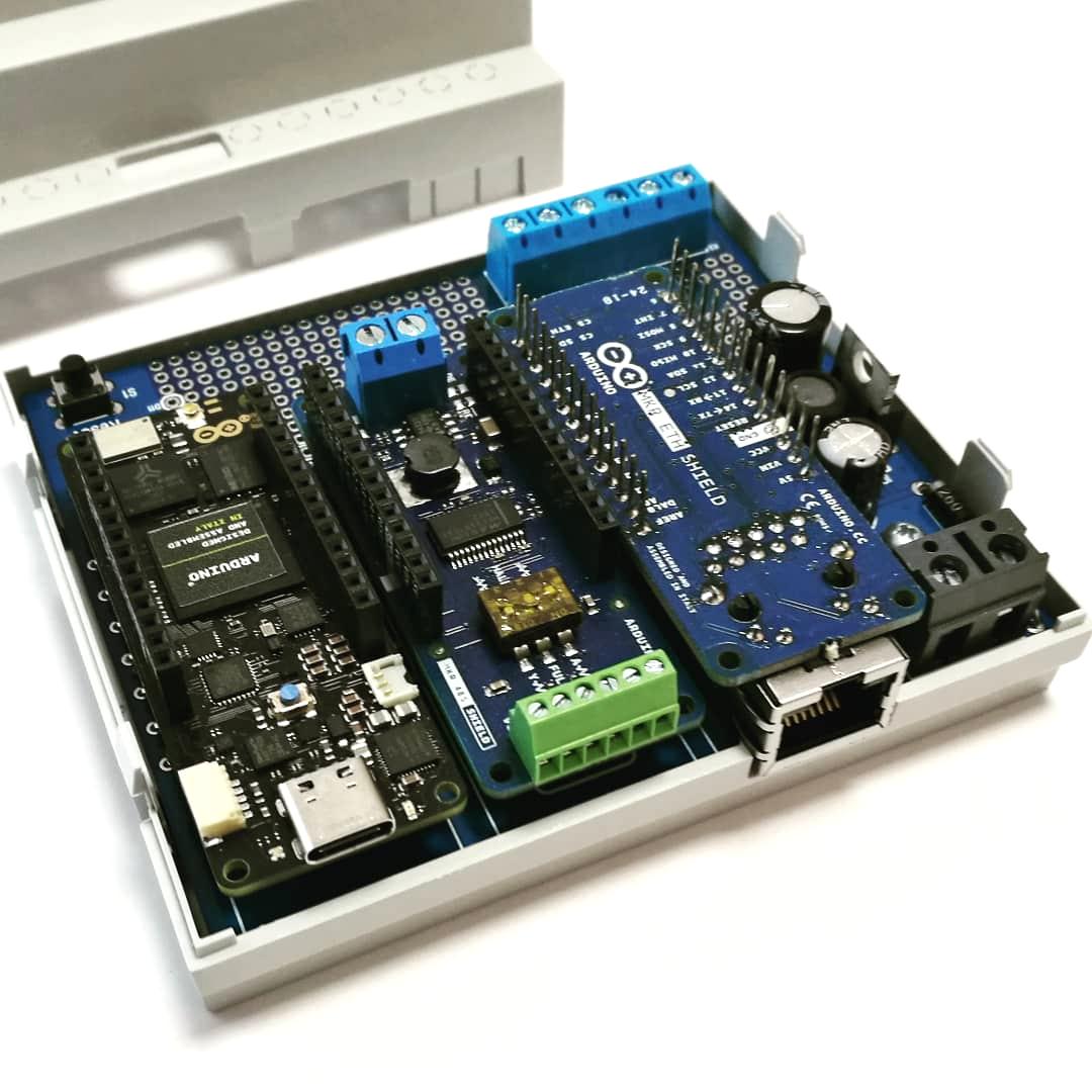 ArduiBox Gehäuse Kit mit Portenta H7 + Shields