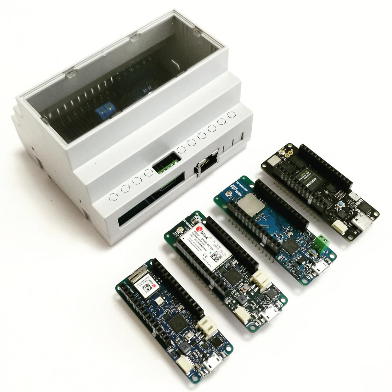ArduiBox MKR Gehäuse Kit mit verschiedenen MKR Boards