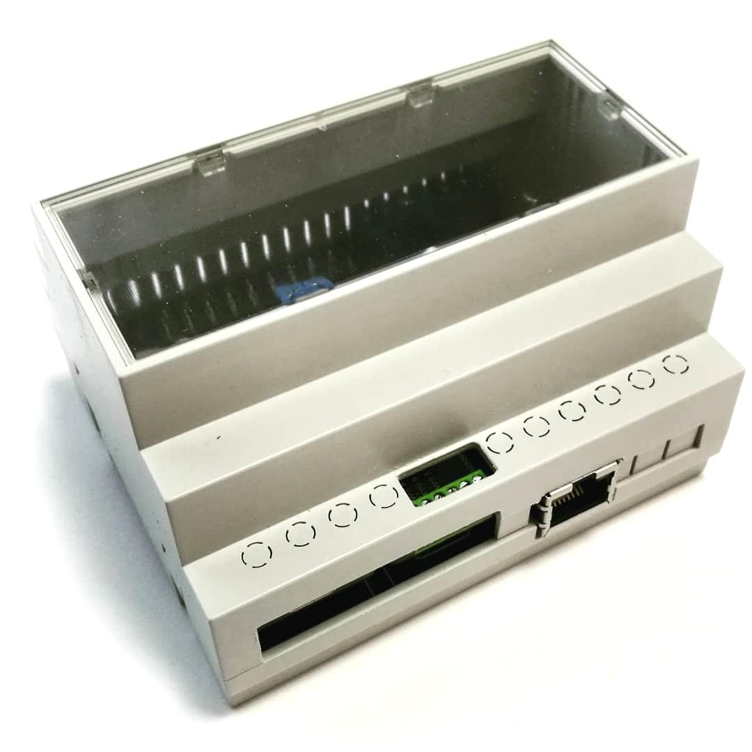 ArduiBox MKR Gehäuse Kit - Ansicht Oberseite
