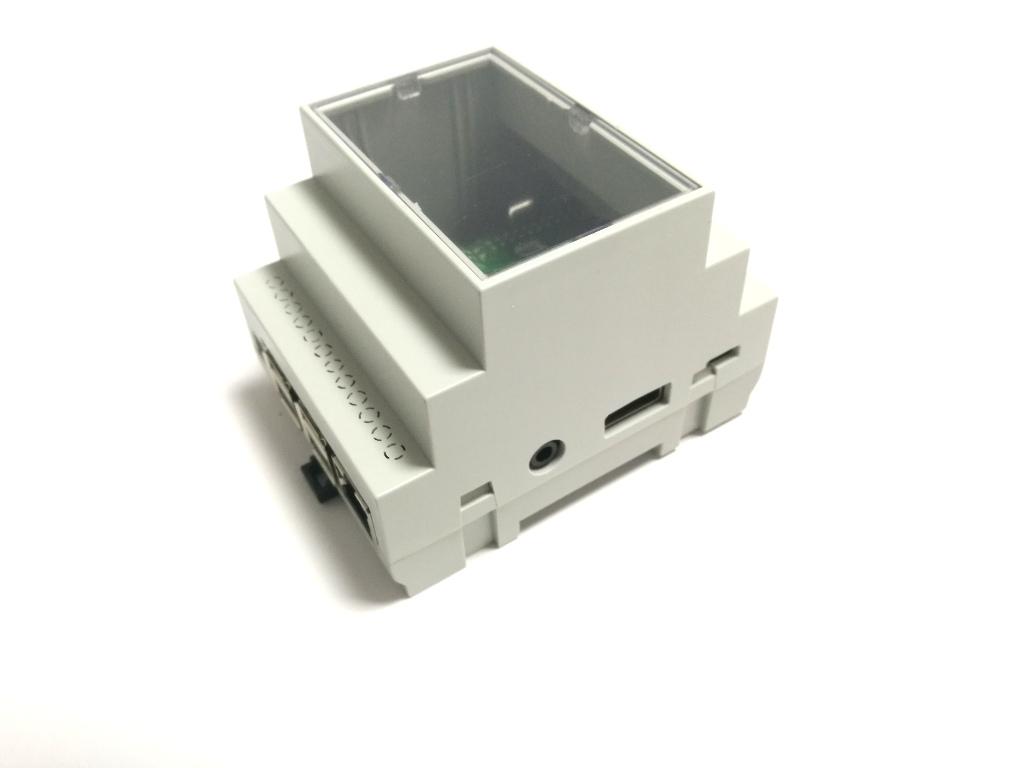 RasPiBox Compact Seitenansicht