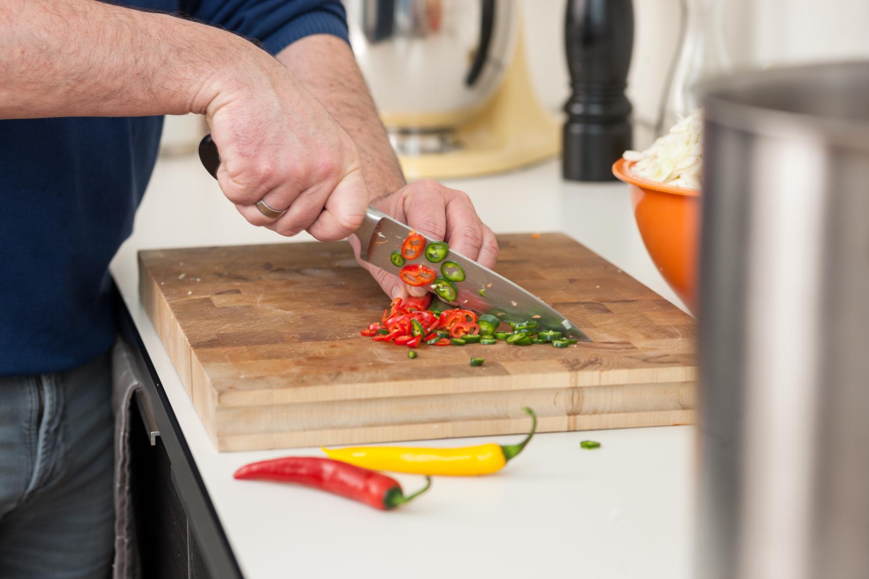 Brennen für neue Kochideen