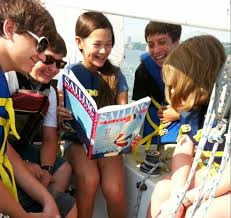 Kinderbetreuung Kinderurlaub Urlaub für Kinder kein Stress  Ausbildung Unterricht Segellehrer Sailinginstructor