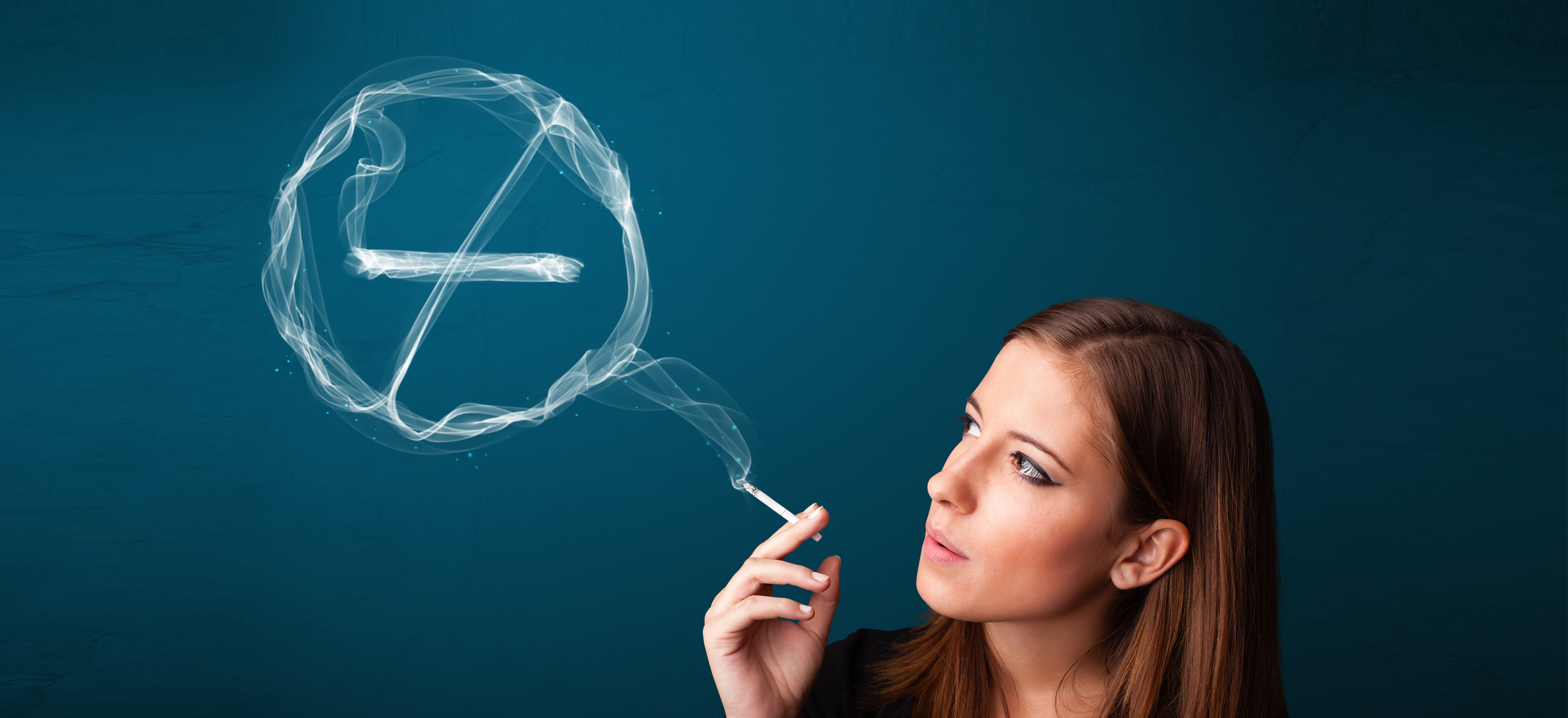 Depressionen vom Rauchen - Der blaue Dunst in unserer Psyche.