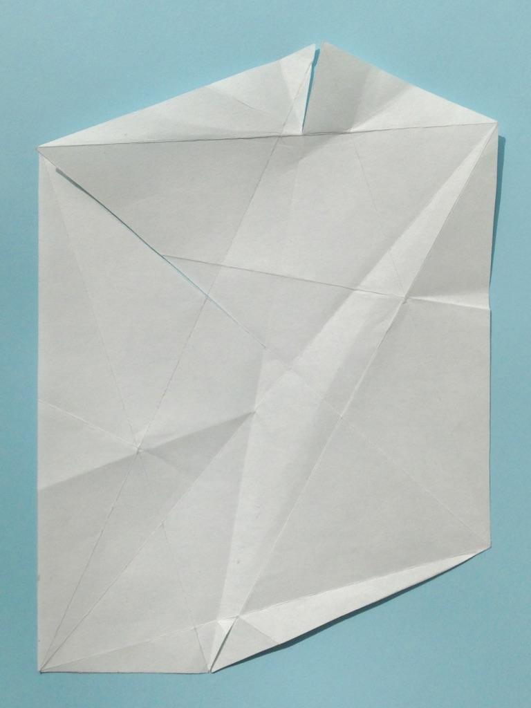 Morten Form, Papier, 10x15cm, 2018