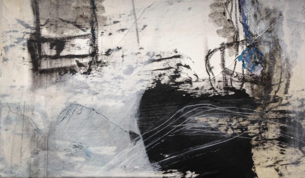 Dasein Nr. 04, Mischtechnik, 20x20cm, 2017