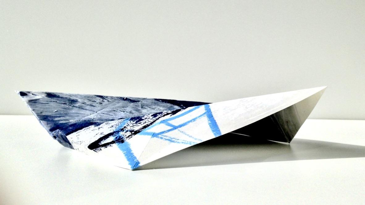 Plastikzyklus Nr. 17, Mischtechnik, 25x12x6 cm, 2018