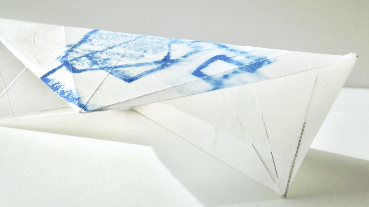 Plastikzyklus Nr. 16, Mischtechnik, 25x10x10 cm, 2018