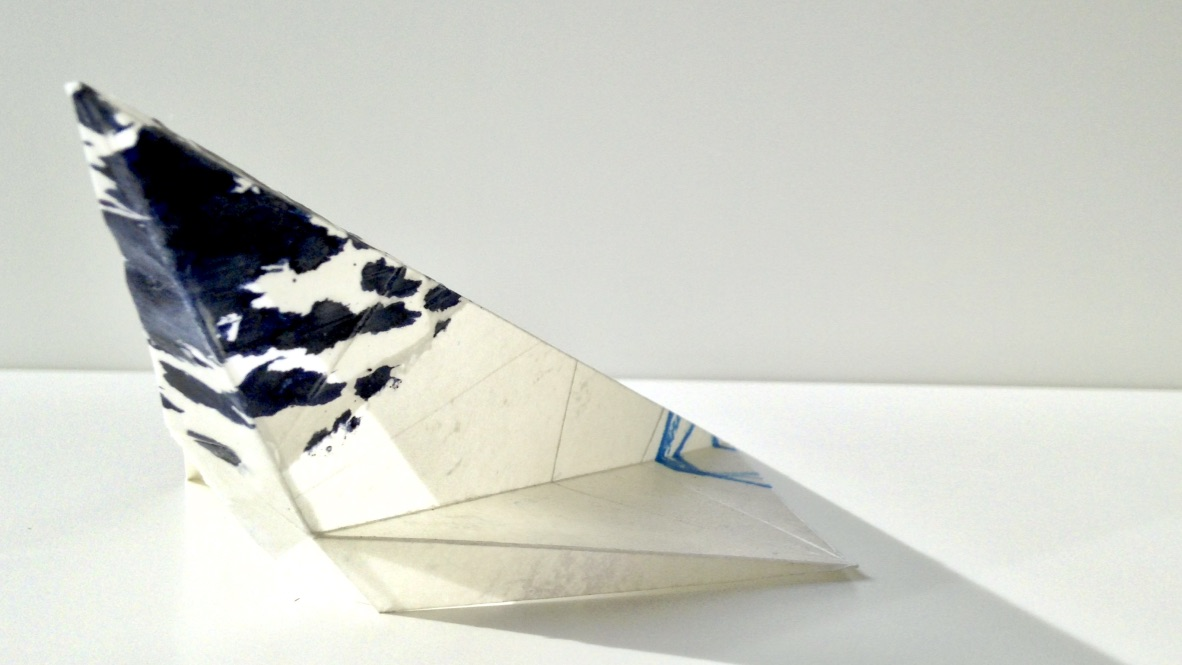 Plastikzyklus Nr. 18, Mischtechnik, 25x8x10 cm, 2018
