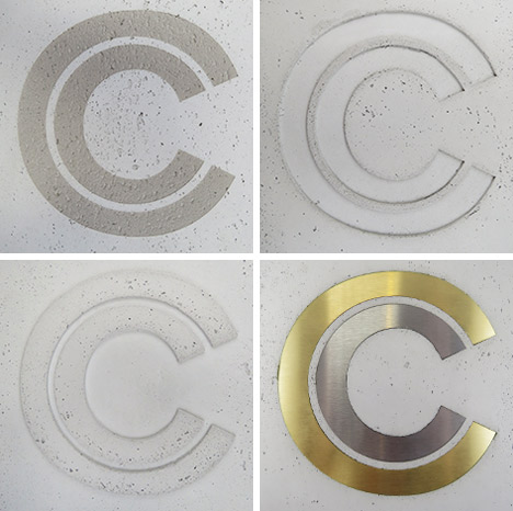 CONCRETE LCDA - Logos auf PANBETON - SLIMBETON - BETON LEGE