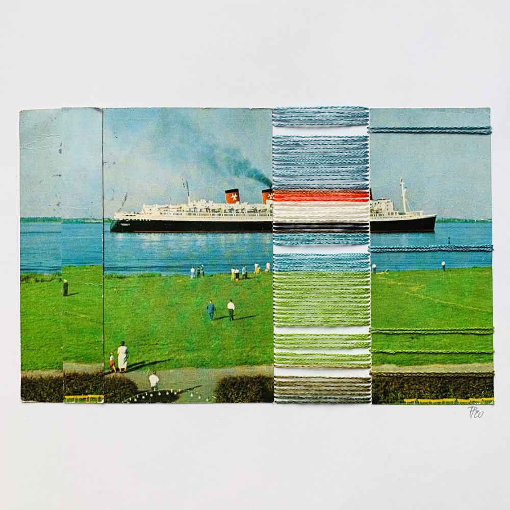 """lange reise"", 24cm x 18cm, 110€"