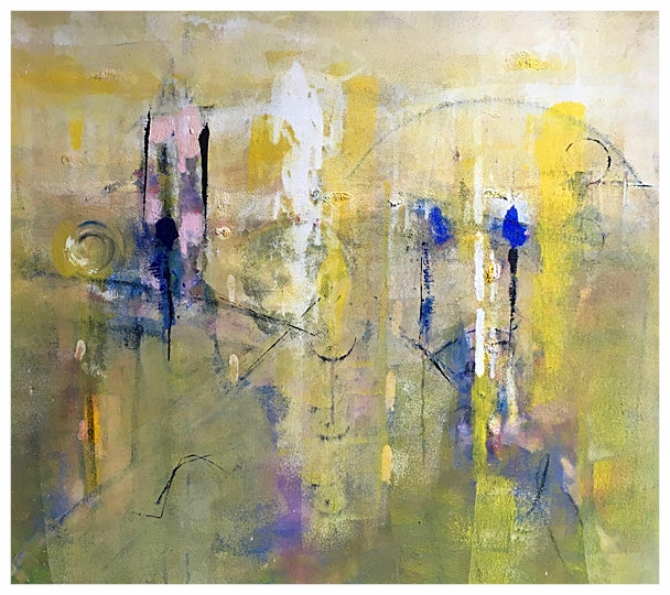 Dissolvenze, 2015, tecnica mista, 82 x 92 cm