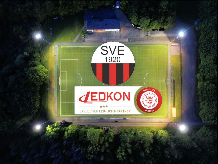 Der SV Ellar rüstet auf moderne und effiziente LED-Flutlichter um