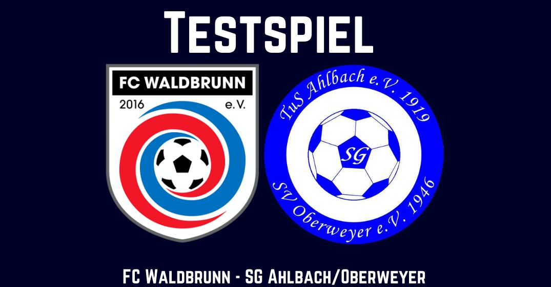 Erster Test für die Erste - in Ellar trifft der FCW auf die SG Ahlbach/Oberweyer