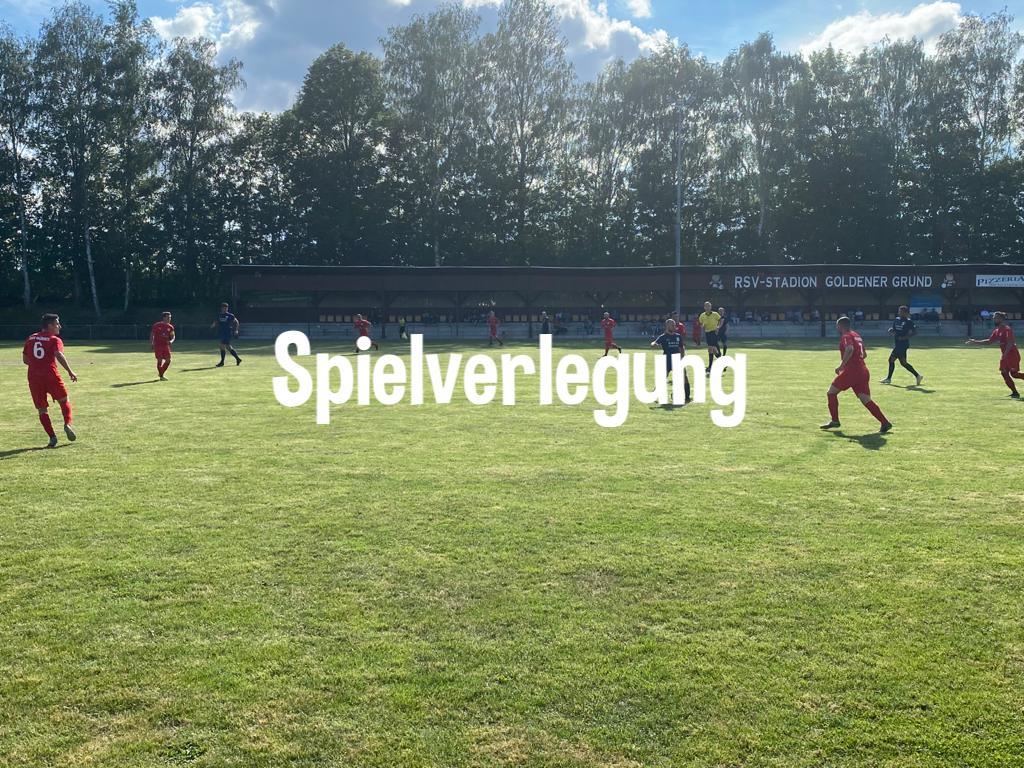 Spielverlegung: FC Waldbrunn II - SG Kirberg/Ohren in Fussingen