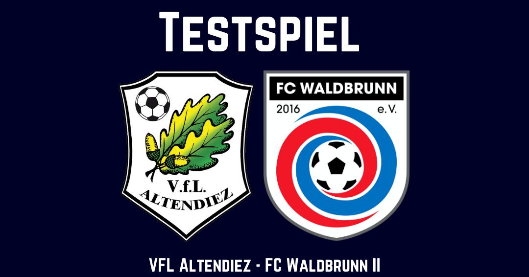 """Die Jungs der Zweiten """"brennen"""" - Testspiel gegen den VfL Altendiez"""