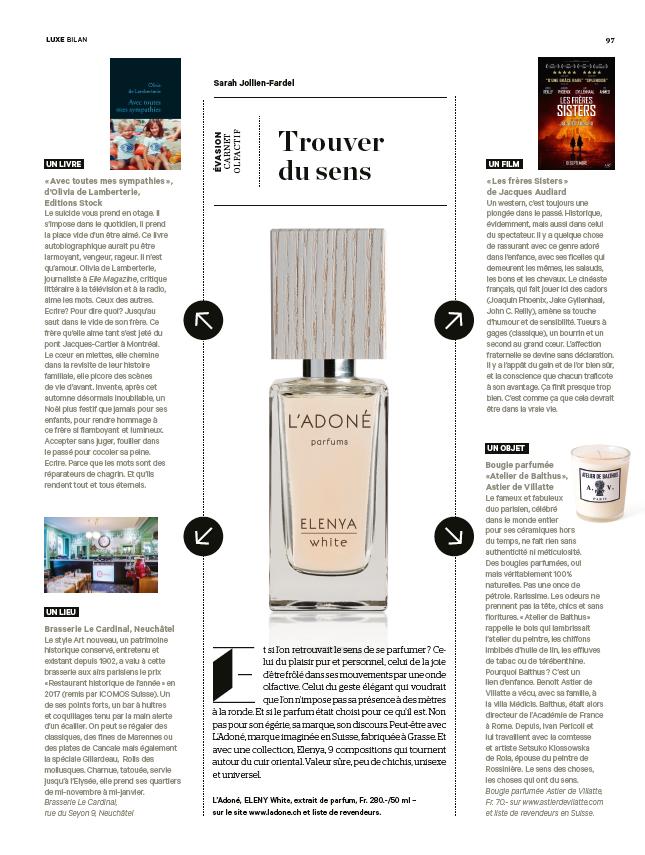 Media Press Ladoné Parfums