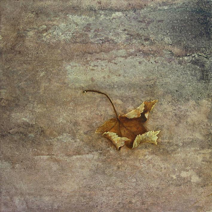 automne - acrylique sur bois - 30x30 cm - 2008 - M.Pavlïn