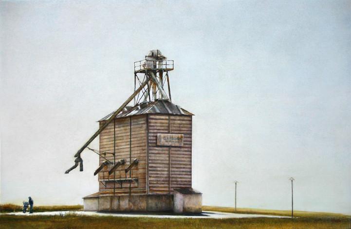 Mr Brendebasch - acrylique sur bois - 40x61 cm - 2013 - M.Pavlïn
