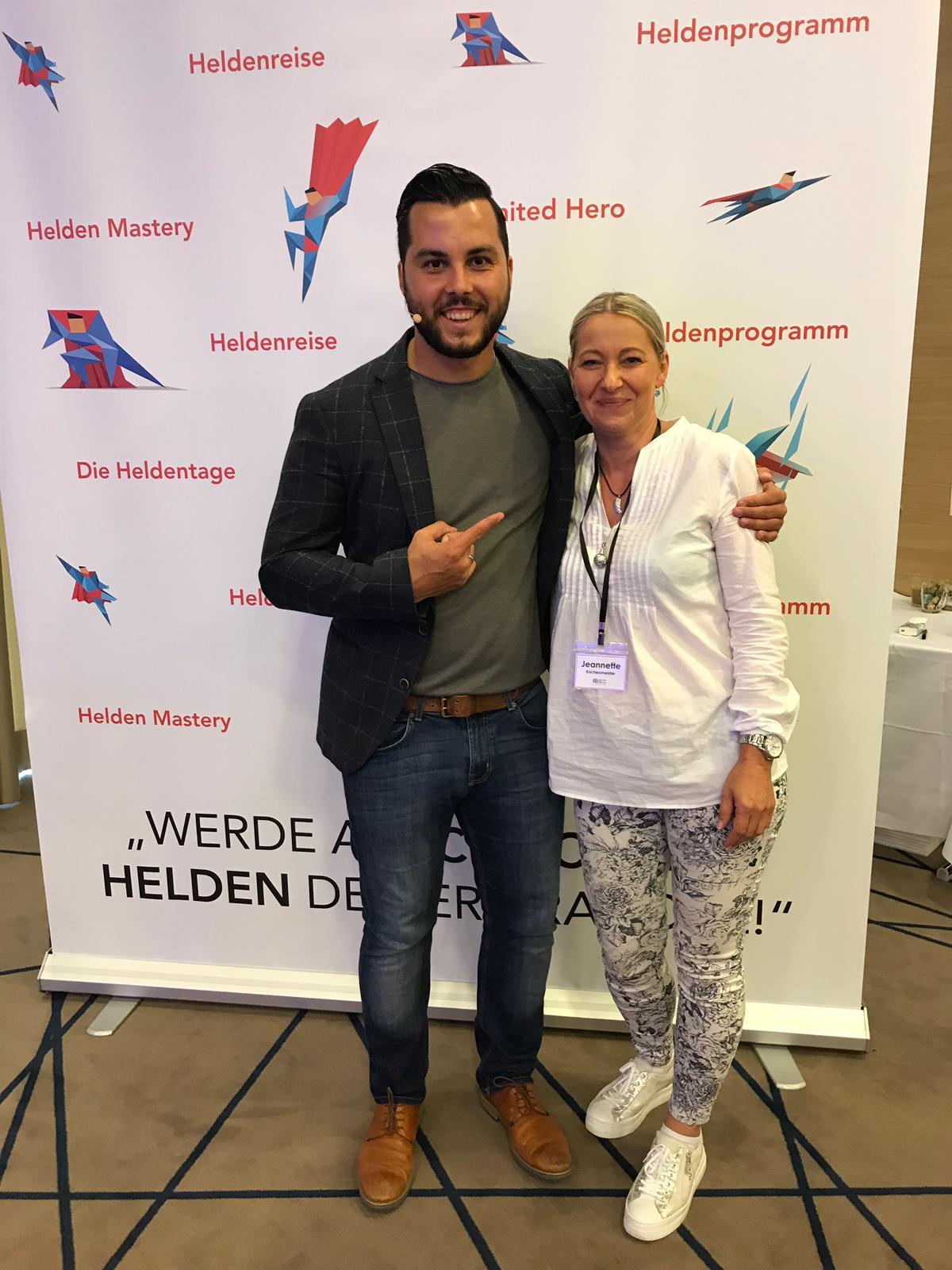 Seminar bei meinem Coach in Frankfurt
