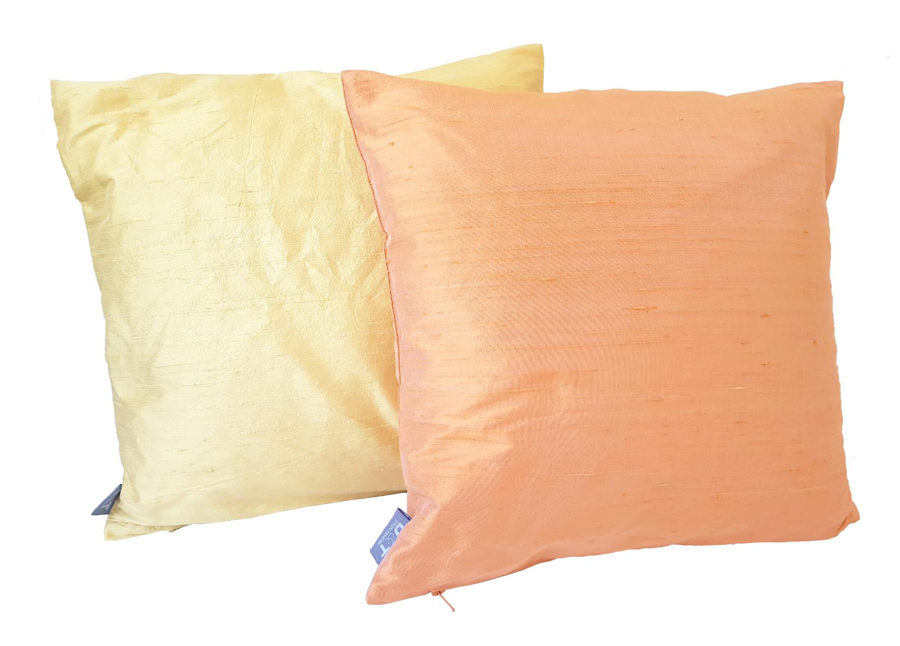 Farbvergleich Maisgelb & Mandarin