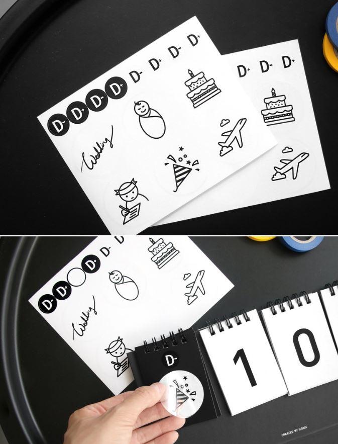 Kalender Sticker