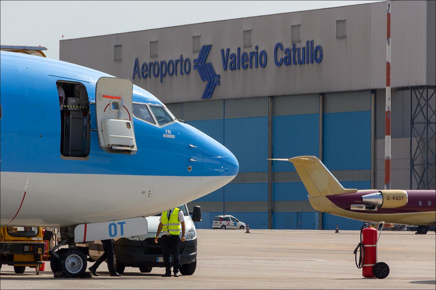 Aeroporto di Verona: i dati di traffico con la Spagna