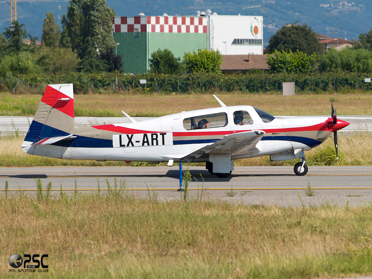 Private - Mooney M20M TLS - LX-ART - CN: 27-0098