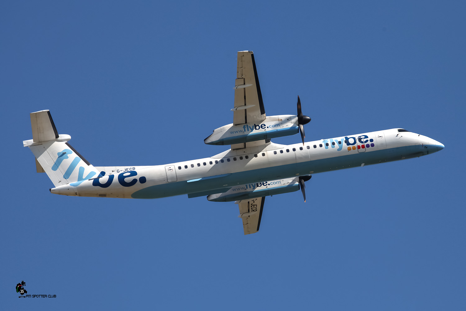 G-JECR DHC-8-402 4139 Flybe - British European