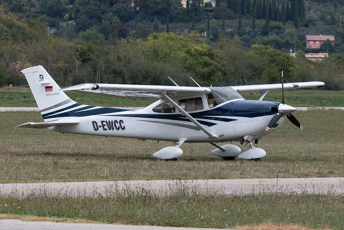 D-EWCC - Cessna 172 Skyhawk @ Aeroporto Verona Boscomantico © Piti Spotter Club Verona