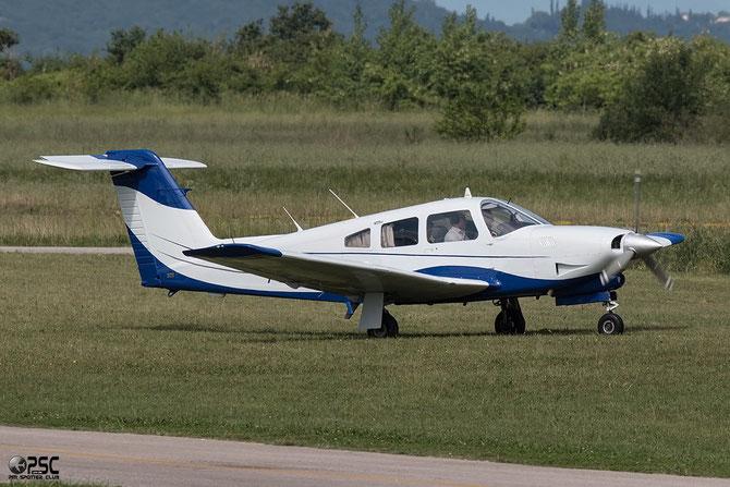 F-GROV Piper PA-28RT-201T Turbo Arrow IV @ Aeroporto Verona Boscomantico © Piti Spotter Club Verona