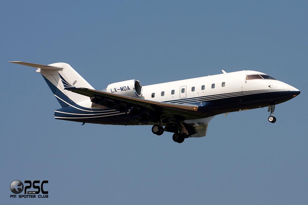 Luxaviation - Canadair CL-600-2B16 Challenger 604  LX-MDA (cn 5616)