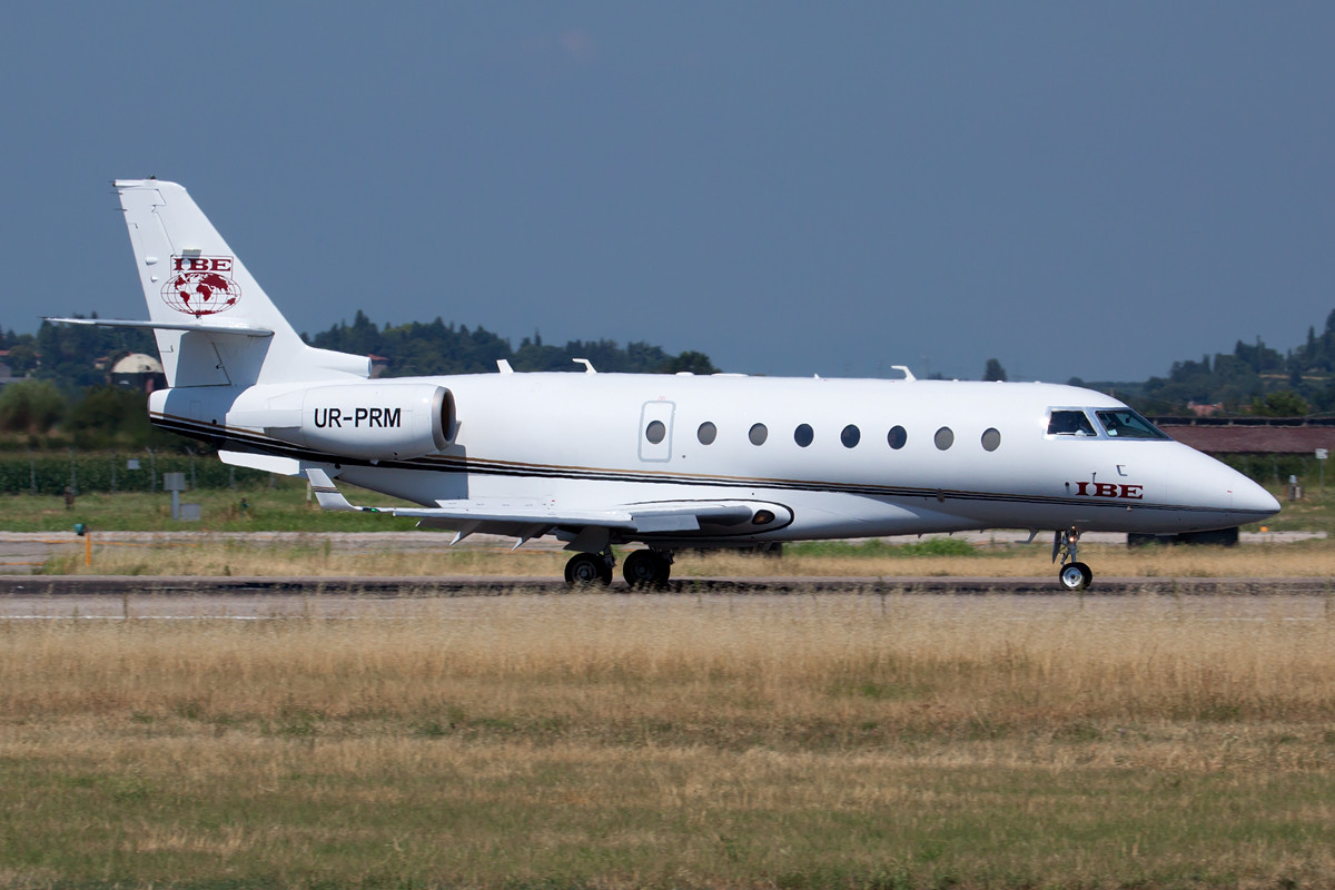 Business Aviation Centre  Gulfstream Aerospace G200  UR-PRM (cn 215)
